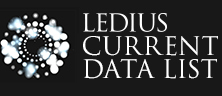 LEDIUS CURRENT DATA LIST